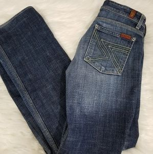 7 For All Mankind Flynt Medium Wash Jeans